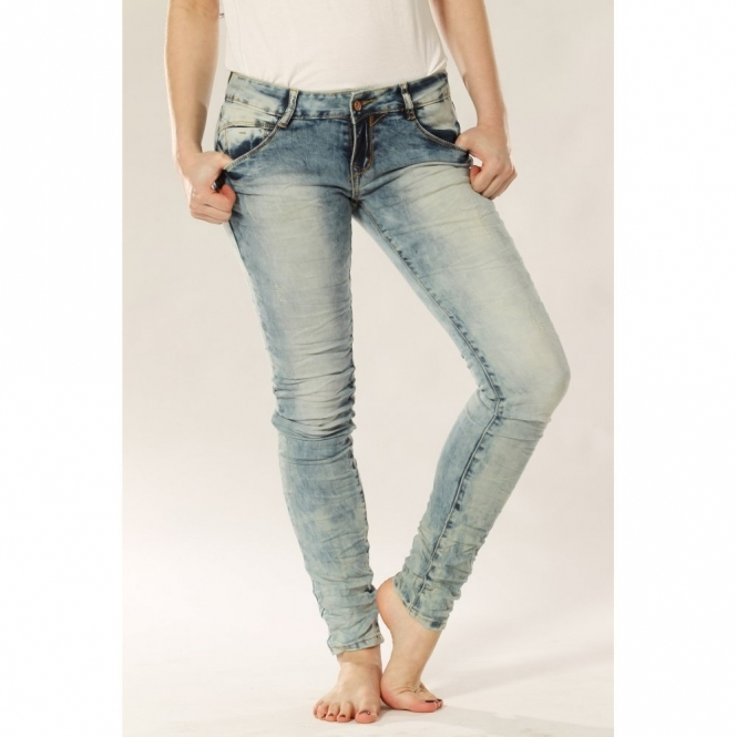 Acid Wash Super Skinny Jeans