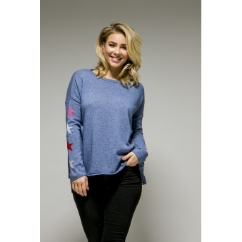 Cashmere Multi Star Jumper