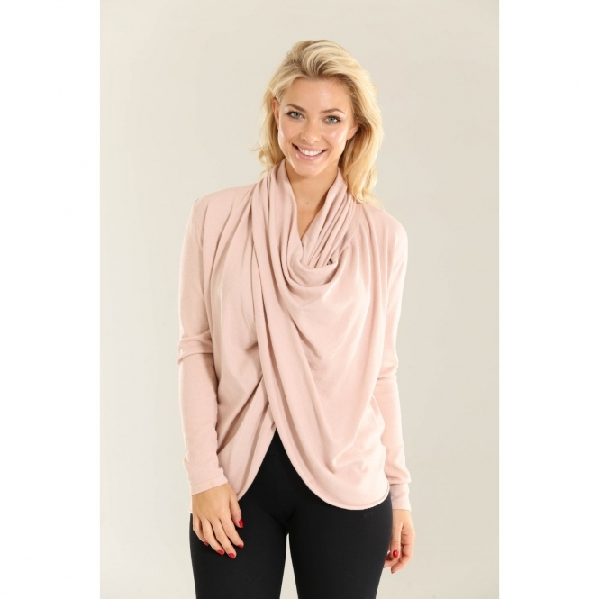 Fine Knit Wrapped Top
