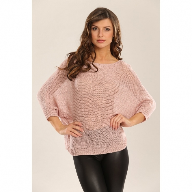 Light Knitted Acrylic Jumper