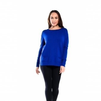 Pearl Back Button Jumper