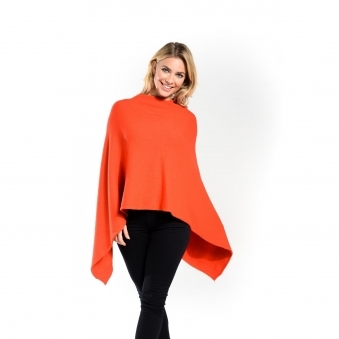 Two-Way Seam Poncho